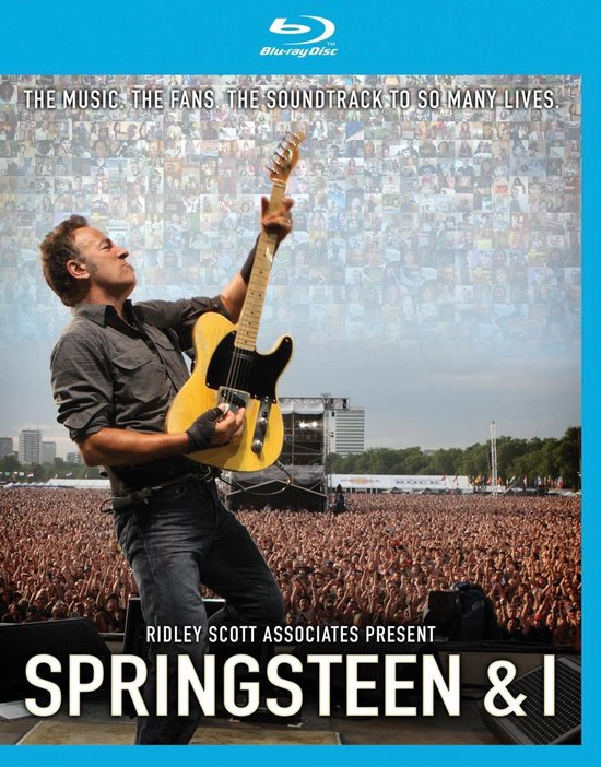 Cover van de film 'Springsteen Bruce - Springsteen & I'