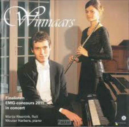 Winnaars - Finalisten EMG-Concours 2011 in concert // Marije Weenink Fluit Wouter Habers Piano