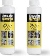 Nano Glas Protector Professionele Nano Tech Vloeistof - 2 x 250 ml - vuil en vochtafstotend!