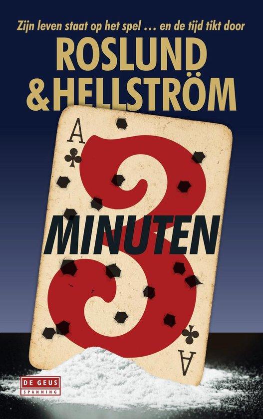 Boek cover Drie minuten van Anders Roslund (Onbekend)