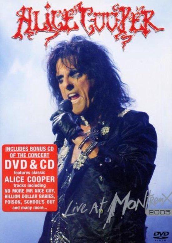 Cover van de film 'Alice Cooper - Live At Montreux 2005'