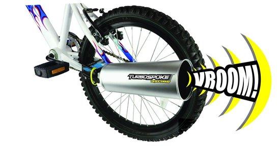 Turbospoke Race - Fiets Uitlaatsysteem - Incl 4 geluidskaarten