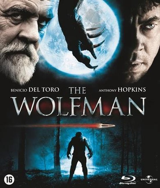 Cover van de film 'The Wolfman'