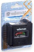 Velleman BATTEST vermogen / batterij tester Zwart