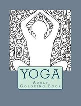 Yoga Adult Coloring Book
