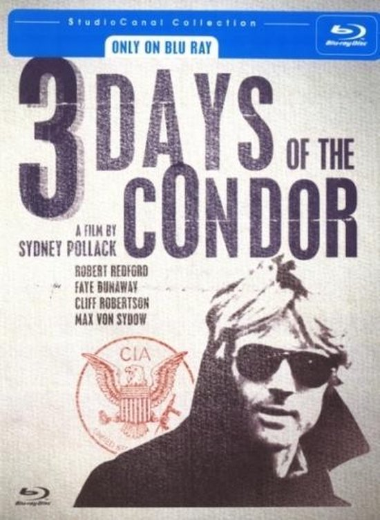 Cover van de film '3 Days Of The Condor'