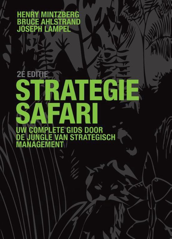 Strategie-safari - H. Mintzberg pdf epub