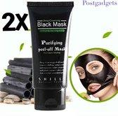 Saizi 2 stuks van 50 ml | Black Head Peel Off Mask Tube | Mee Eters & Acne verwijderen | Peel Off Mask | Blackhead Pilaten Masker | Black Head Mask | Shills Natuurlijke Producten | Hype Rage 2017