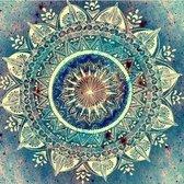 Diamond Painting – Mandala - Figuren – 40 x 55 – Turquoise