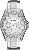 Fossil Zilverkleurig Vrouwen Horloge ES3202