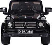 Mercedes-Benz G55 Zwart Met Afstandsbediening Elektrische Kinder Accu Auto