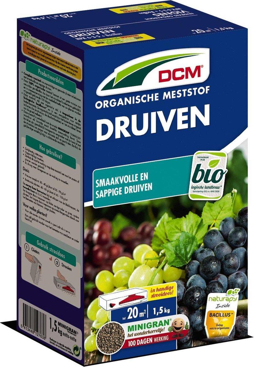 DCM Meststof Druiven (MG) (1,5 kg) Strooidoos