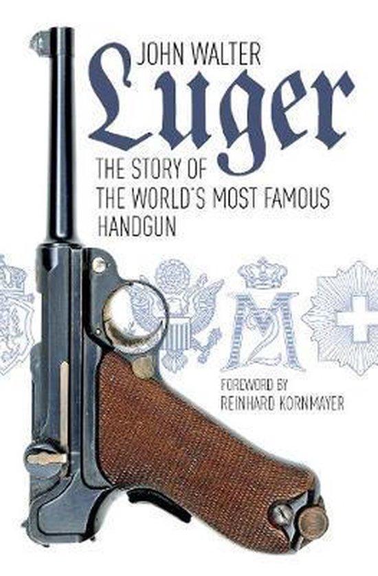 Boek cover Luger van John Walter