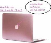 Macbook Case voor MacBook Air 13 inch (modellen t/m 2017) - Hard Laptop Cover - Rose Pink