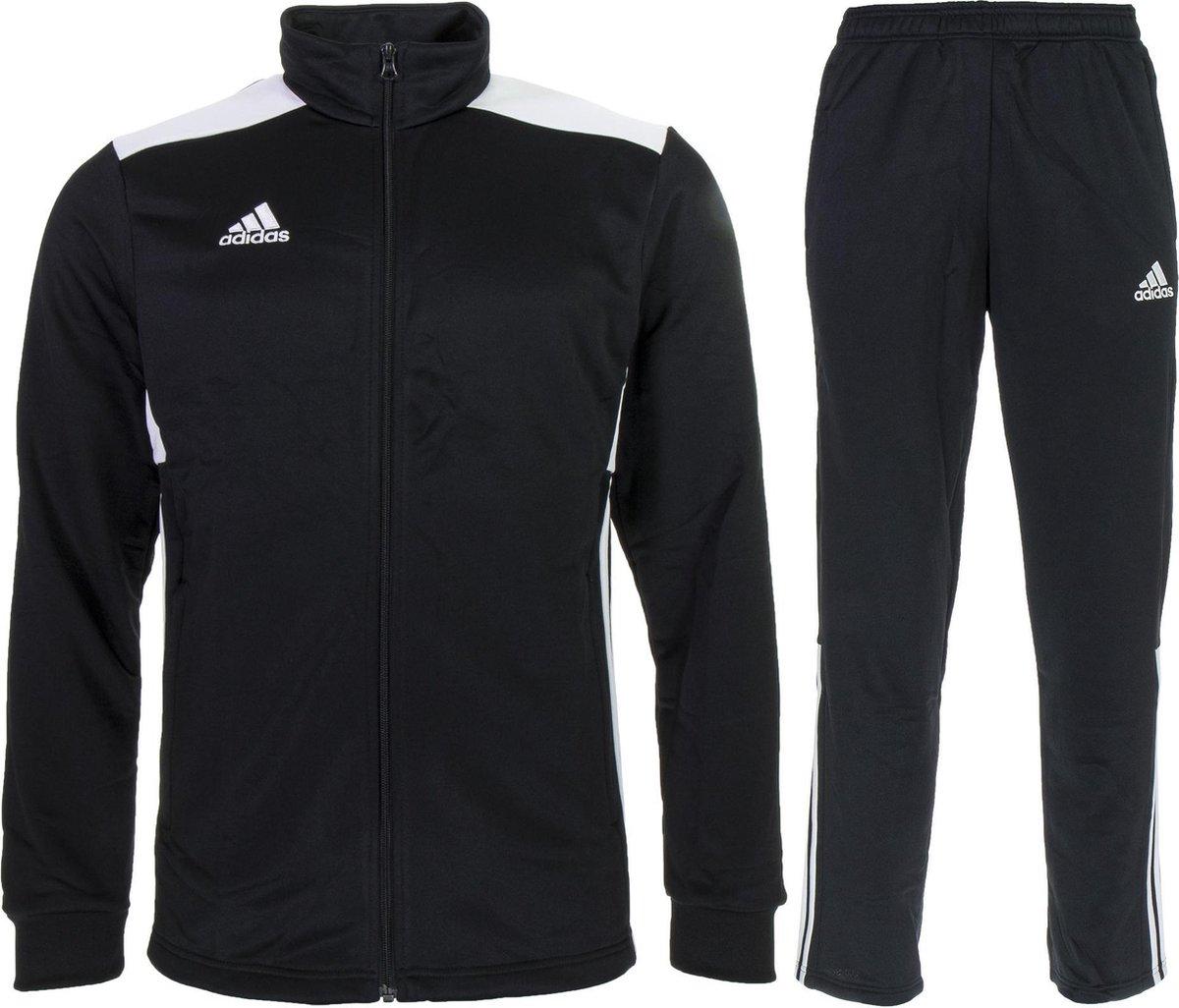 adidas Regista 18 Polyester  Trainingspak - Maat S  - Mannen - zwart/wit - adidas