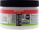 Amsterdam schildermedium flacon 250ml - extra heavy gel - mat