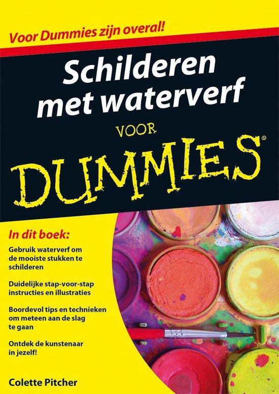 Schilderen met waterverf voor Dummies - Colette Pitcher | Fthsonline.com