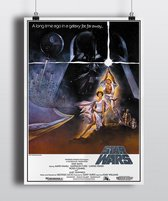 Poster film Star Wars 1977
