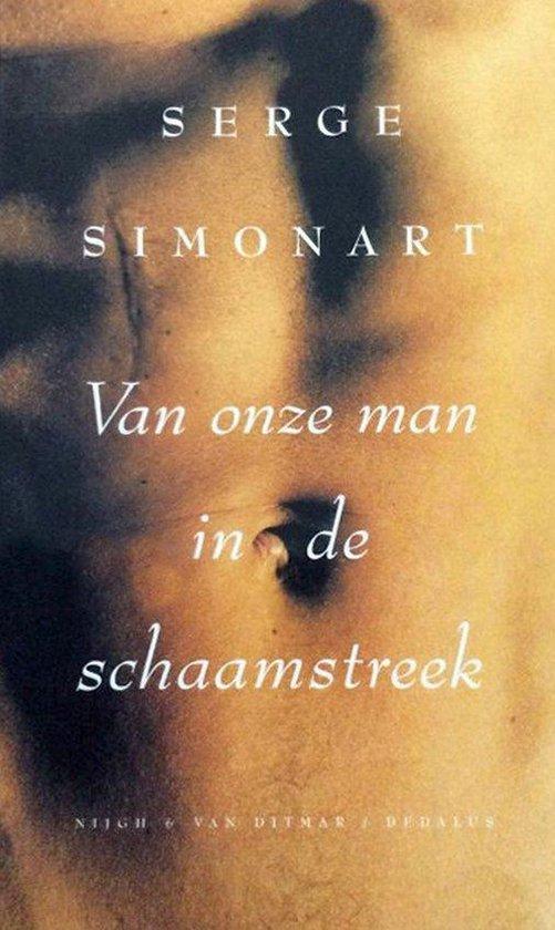Boek cover Van onze man in de schaamstreek van Simonart (Paperback)
