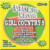 Party Tyme Karaoke: Girl Country, Vol. 9