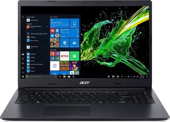 Acer Aspire 3 A315-55G-76C4 Notebook Zwart 39,6 cm (15.6'') 1920 x 1080 Pixels Intel® 10de generatie Core™ i7 8 GB DDR4-SDRAM 1000 GB SSD NVIDIA GeForce MX230 Wi-Fi 5 (802.11ac) Windows 10 Home