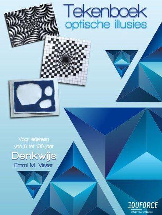 Tekenboek optische illusies - Emmi M. Visser |