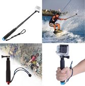 Waterproof Universele Action Camera Selfie Stick - Handheld Selfie Stok Monopod Pole Mount Voor De GoPro Hero 5/4/3/2/1 Cam