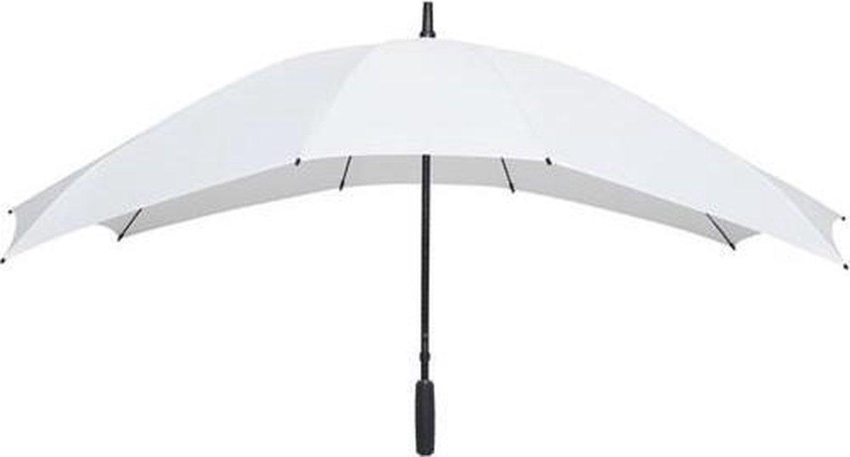 Falcone  Duo Paraplu -   148 cm - Wit