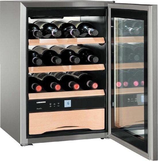 Koelkast: Liebherr WKES 653-21 - Wijnkoelkast - 12 flessen, van het merk Liebherr