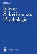 Kleine Schriften zur Psychologie