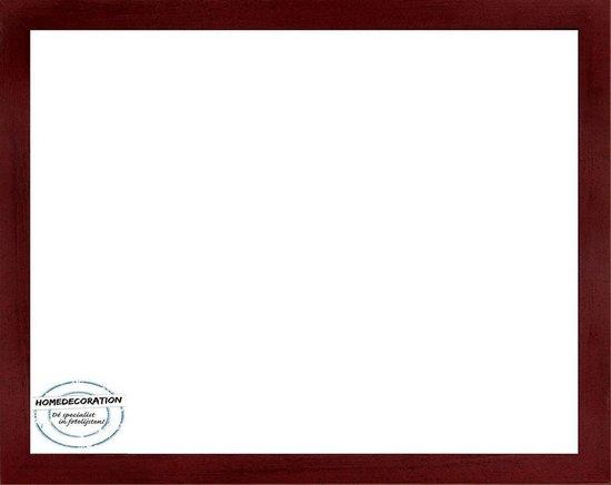 Homedecoration Misano – Fotolijst – Fotomaat – 60 x 80 cm  – Wijnrood