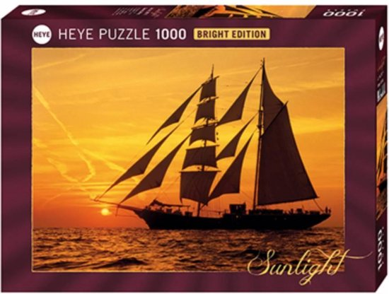 Heye Zeilen in de zon - 1000 stukjes