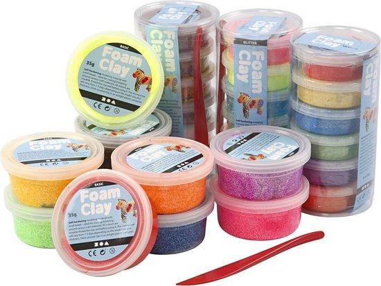 Foam Clay®, 28 dozen, diverse kleuren