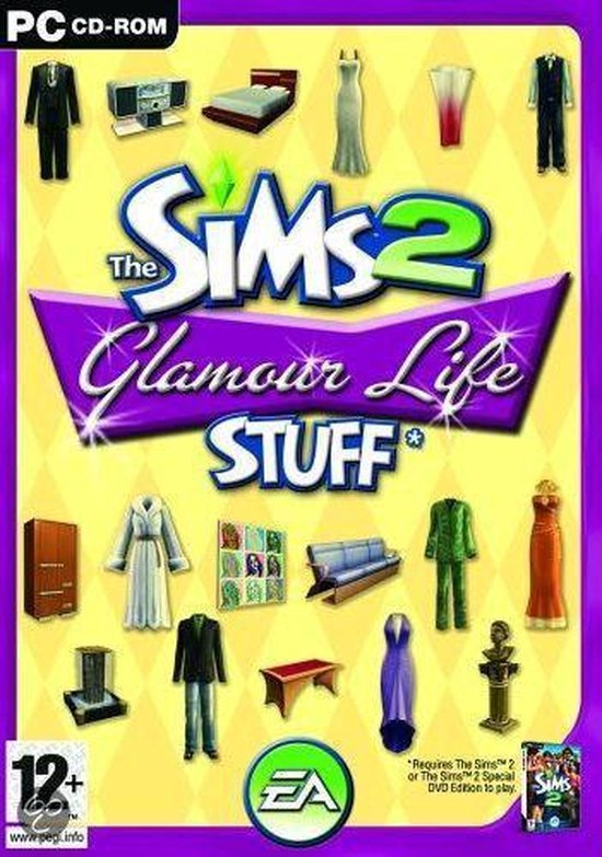 The Sims 2: Glamour Life Stuff – Engelse Editie