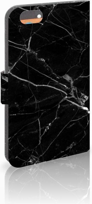 Iphone 6 | 6s Uniek Ontworpen Design Hoesje Marmer Zwart