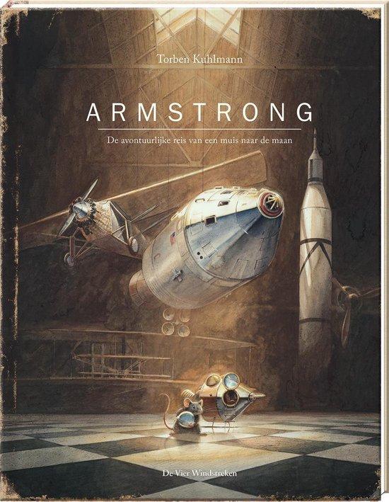 Kinderboek Armstrong over de Ruimte, sterren en planeten