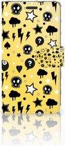 LG X Power Bookcase Hoesje Punk Yellow
