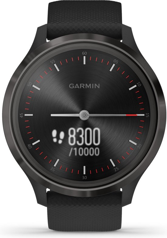 Garmin Vivomove 3 - hybride smartwatch - 44 mm - Zwart