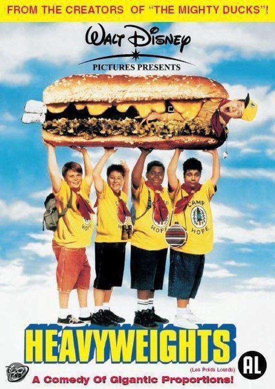 Cover van de film 'Heavyweights'