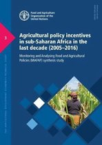 Agricultural policy incentives in sub-Saharan Africa in the last decade (2005-2016)