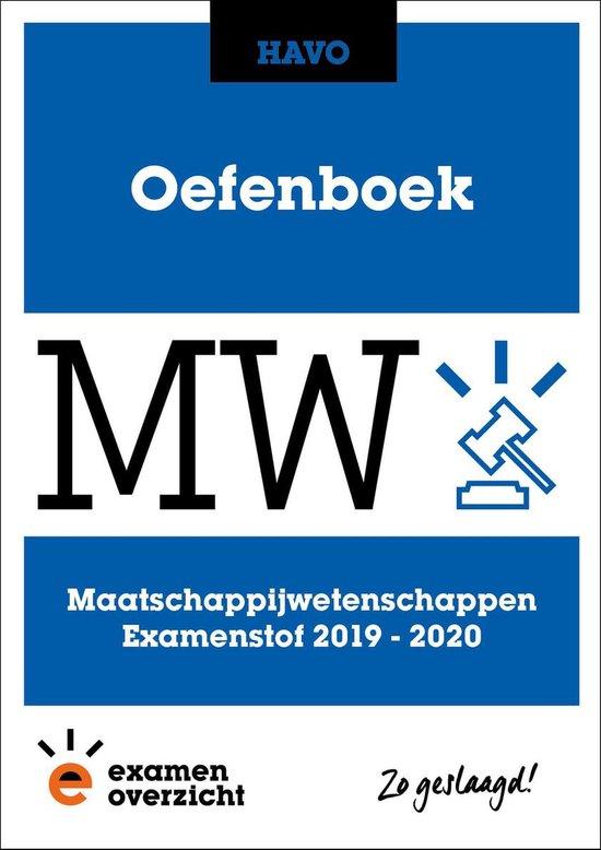 ExamenOverzicht - Oefenboek Maatschappijwetenschappen HAVO - ExamenOverzicht |