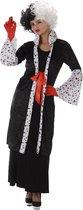 Cruella boze vrouw kostuum - Volwassenen kostuums