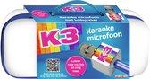 K3 - Speelgoedmicrofoon - Karaoke Microfoon - Regenboog - Met ingebouwde luidspreker - Draadloos - Bluetooth - Zingen en praten met speciale geluidseffecten - Opladbare batterijen - in bewaar pocket - inclusief USB oplaadkabel