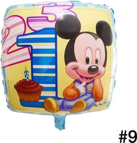 Disney Mickey of Minnie Mouse Folieballon dubbelzijdig/Verjaardag/Feest/Folieballon(9)