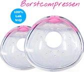 SEBASKA - Borstcompressen - Zoogcompressen - wasbaar - Herbruikbaar - Borstvoeding - Lekschalen