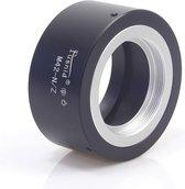 Adapter M42-NZ: M42 mount Lens - Nikon Z mount Camera