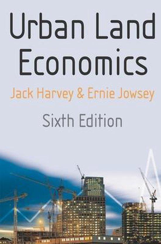 Boek cover Urban Land Economics van Jack Harvey (Paperback)