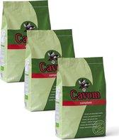 Cavom Compleet Adult - Vlees - Hondenvoer - 3 x 5 kg