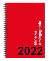 Minerva Omlegagenda 2021 - ringband - 1 week per 2 pagina's - A5 formaat