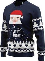 JAP Limited Foute kersttrui - Santa let it snow - Kerst - Dames en heren - Kerstcadeau volwassenen - M